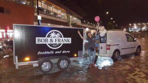 Pathé Arena Cocktails Bob & Frank Car